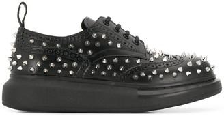Alexander McQueen spike lace-up sneakers