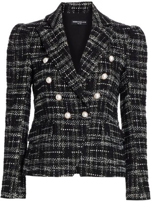 Generation Love Kelcye Tweed Blazer