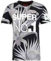 Superdry Print Tshirt Black