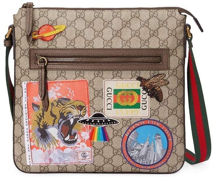 1b78bee80fbf Gucci Men Leather Messenger - ShopStyle