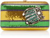 Rochas Borsa paillette clutch