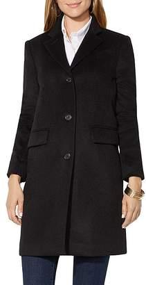 Ralph Lauren Wool-Blend Reefer Coat