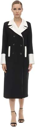 L'Autre Chose DOUBLE BREASTED WOOL BLEND COAT