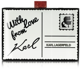 Karl Lagerfeld Postcard Box Clutch