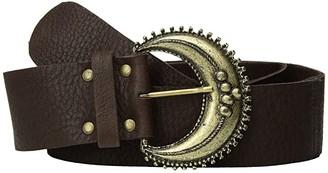 Leather Rock Emeline Belt (Espresso) Women's Belts