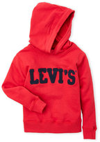 Levi's Boys 4-7) Red Embroidered Terry Knit Logo Hoodie