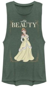 Fifth Sun Disney Juniors' Princesses His Beauty Festival Muscle Tank Top