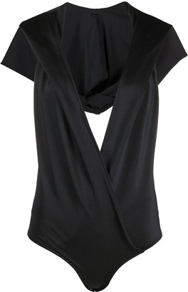 Balmain Hooded Bodysuit