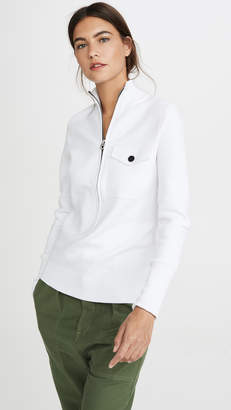 Proenza Schouler White Label 1/4 Zip Sweater