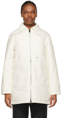Carhartt Work In Progress White Brooke Coat