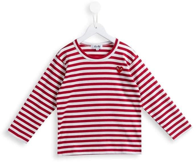 Comme des Garcons Kids striped T-shirt
