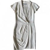 Valentino Garavani Ecru Wool Dress for Women