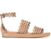 Alaia platform buckled sandals