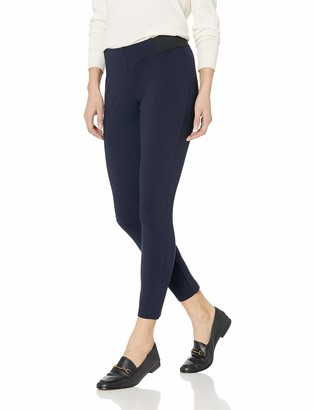 Chaps Women's Stretch Ponte Skinny Ankle Length Legging