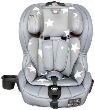 My Babiie Group 123 Car Seat - Grey Stars