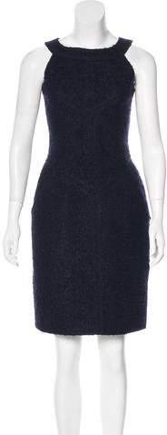 Chanel Bouclé Sleeveless Dress