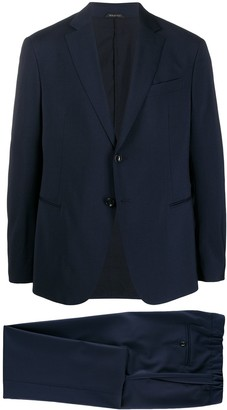 Giorgio Armani Notched-Lapel Single Breasted Blazer