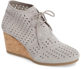 Toms Perforated Chukka Wedge Boot