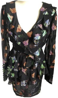 The Kooples Spring Summer 2019 Black Silk Dresses