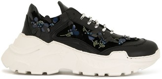 Giambattista Valli embellished low-top sneakers