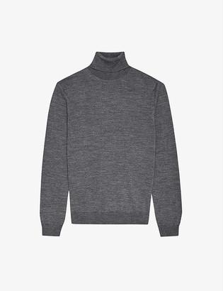 Reiss Caine merino wool rollneck jumper