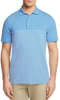 Vineyard Vines Newport Stripe Golf Regular Fit Polo Shirt
