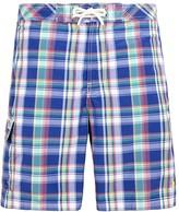 Polo Ralph Lauren Checked Cotton Shell Swim Shorts