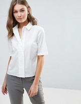 Selected Kenta Cropped Shirt