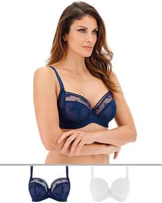 Dorina Curves 2Pack Zara Blue/Ivory Bras