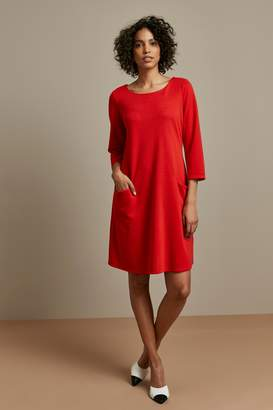 Wallis Red Pocket Detail Swing Dress
