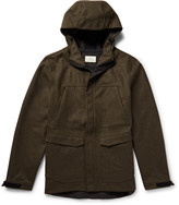 The Lost Explorer - Waterproof Stretch Merino Wool Corkshell Hooded Jacket