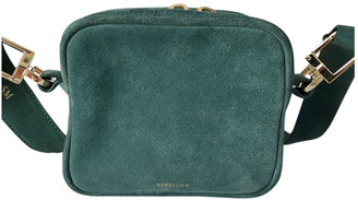DeMellier Green Suede Handbags