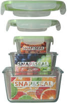 Artland Snap And Seal 3Pc Square Container Set