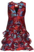 Mary Katrantzou Rokina floral-jacquard dress