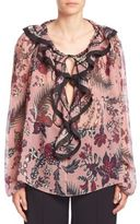 Chloé Silk Floral Blouse