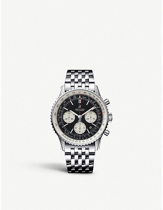 Breitling AB0121211B1A1 Navitimer 1 B01 Chronograph 43 stainless steel watch