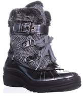 Anne Klein Gallup Snow Boots, Grey Multi.