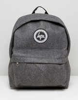 Hype Charcoal Wool Backpack
