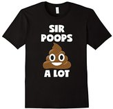 Funny Poop Shirt For Men SIr Poops A Lot Kids Toddlers