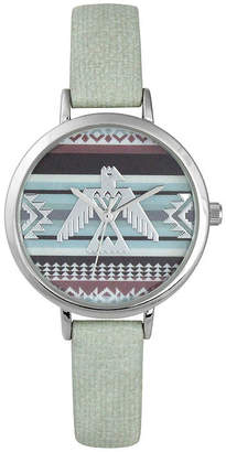 Decree Womens Green Strap Watch-Pt5289svmt