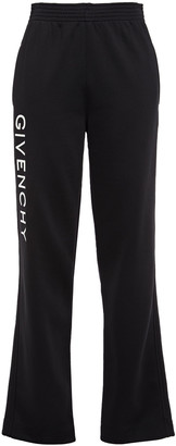 Givenchy Embroidered Fleece Track Pants