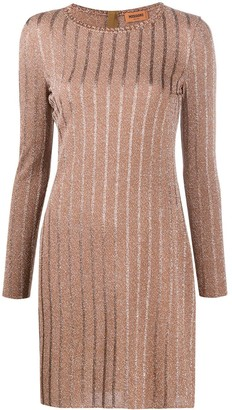 Missoni Glitter Knitted Shift Dress