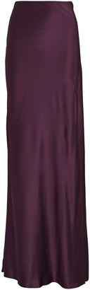SABLYN Isabella Silk Maxi Skirt