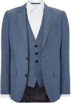 Hugo Huge Genius Textured Three-piece Suit