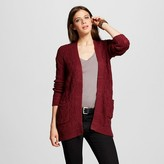 Women's Textured Open Cardigan - Mossimo