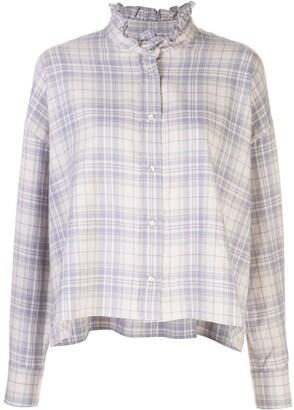 Etoile Isabel Marant Ilaria checked shirt