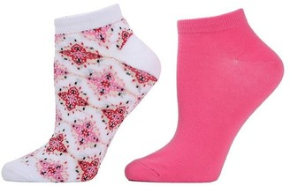 Natori Diamond Socks - 2 Pair Pack
