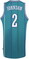 adidas Men's Larry Johnson Charlotte Hornets Retired Player Swingman Jersey