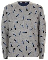 Lanvin All-over Saw Sweater