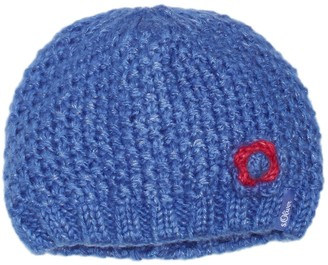 S'Oliver Girl's mit Blutenapplikation Hat